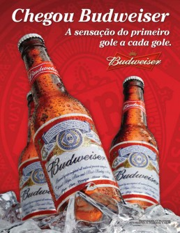 Portugues Advertisement Budweiser Cannonball