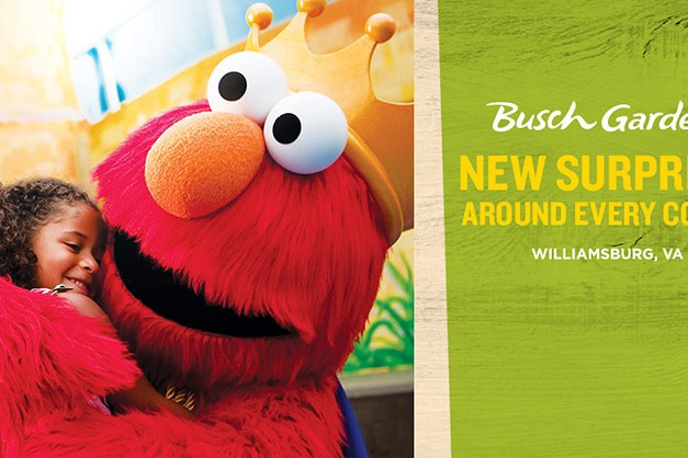 Busch Gardens Williamsburg - Elmo