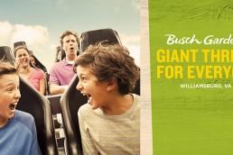 Busch Gardens Williamsburg - Giant Thrills