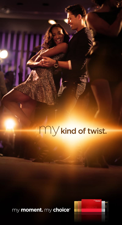 Pinnacle My Choice Campaign - My Kind of Twist