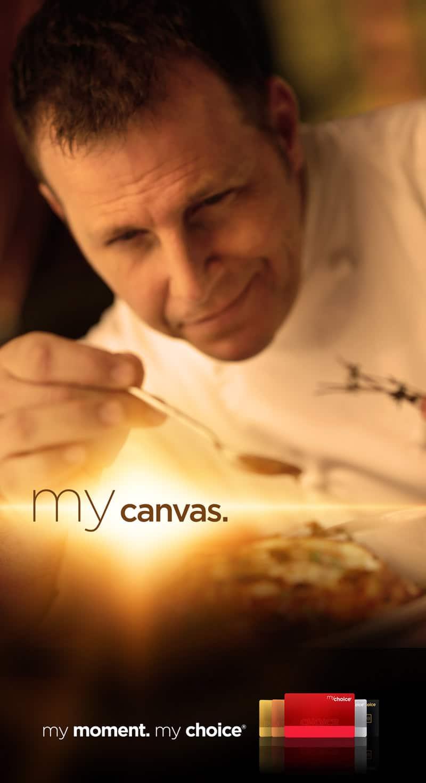 Pinnacle My Choice Campaign - My Canvas