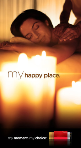 Pinnacle My Choice Campaign - My Happy Place