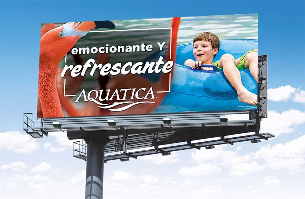 Spanish Advertisement SeaWorld