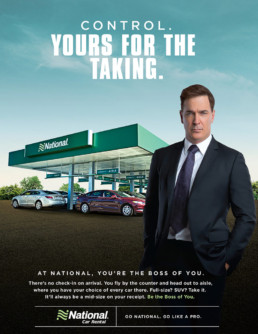 National Car Rental Control Enthusiast Campaign