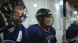 Mom Hockey Bench