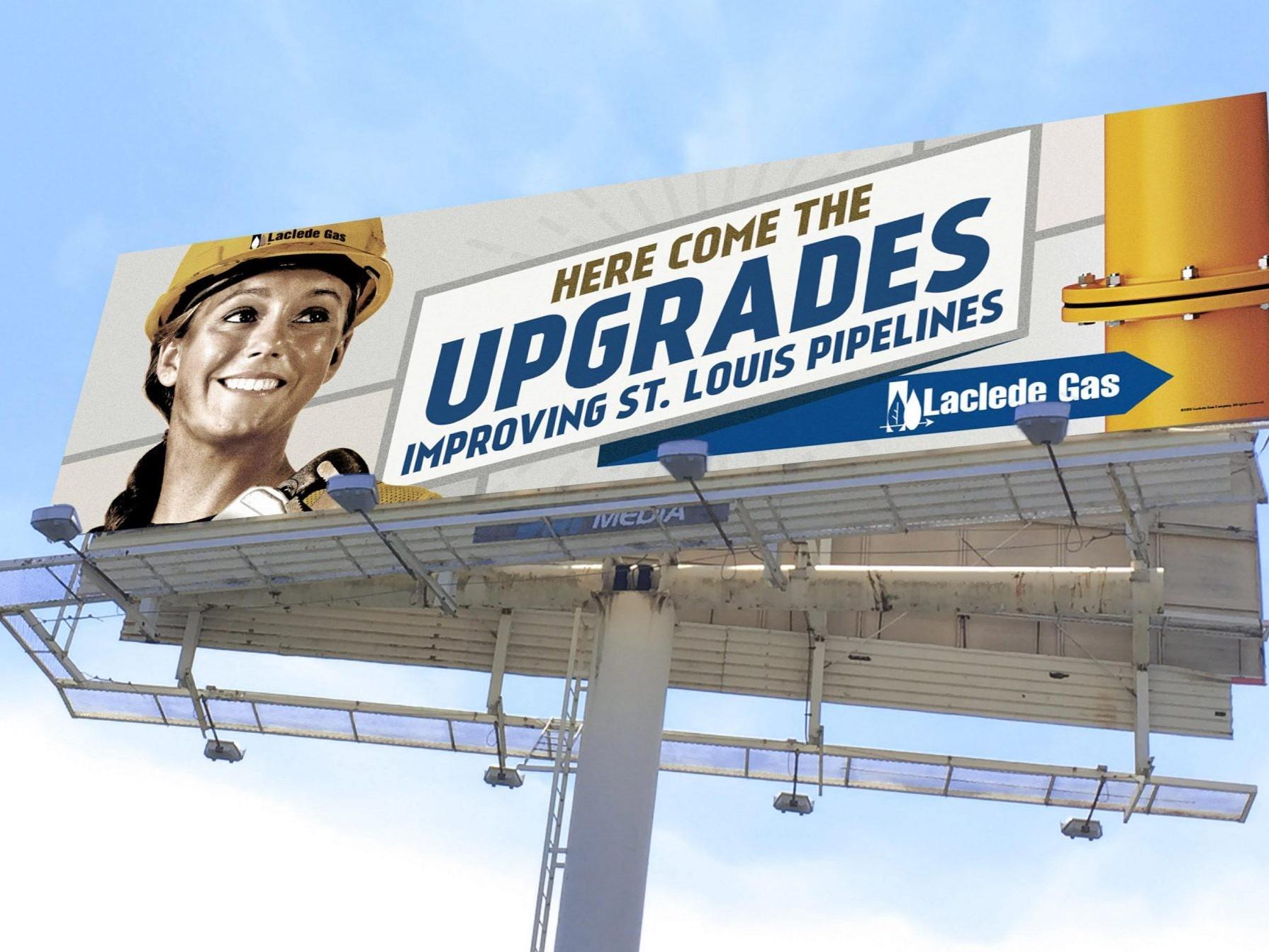 Laclede Gas OOH Billboard - Upgrades