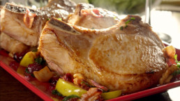 Farmland Passion for Pork Rebrand Pork Dish