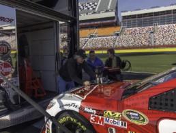 Budweiser Racing Experience Filming Setup