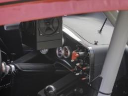Budweiser Race Car Interior