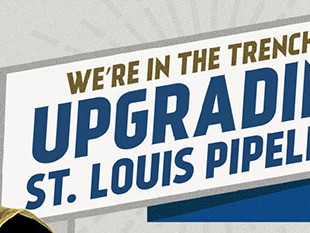 Laclede Gas Billboard - Upgrading Pipelines