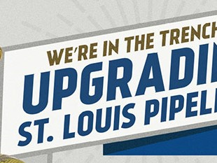 Laclede Gas St Louis Pipelines Billboard