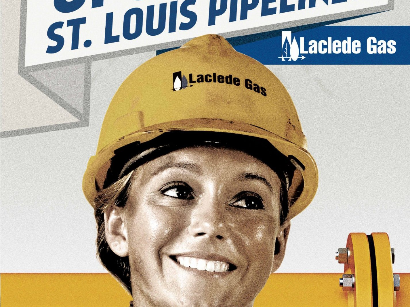Laclede Gas Pipeline Upgrade Poster