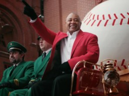 Budweiser Opening Day Ozzie Smith Carriage