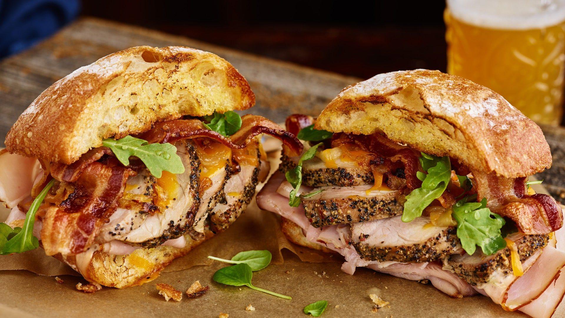 Farmland Passion for Pork - Pork Sandwich