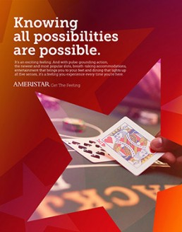 Ameristar Get the Feeling Campaign - Print Piece