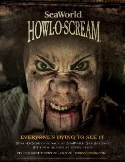 SeaWorld Howl-O-Scream Encore Print Piece