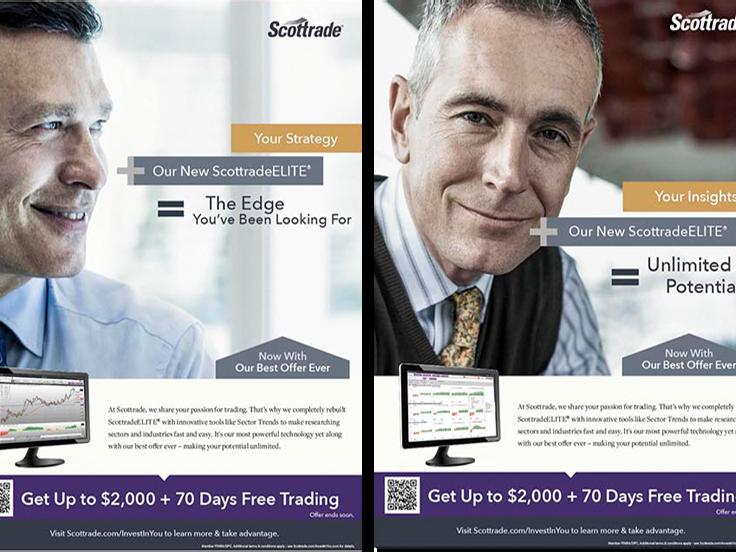 Scottrade Print Ads